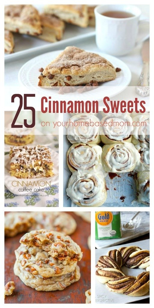 25 Cinnamon Sweets on Your Homebased Mom