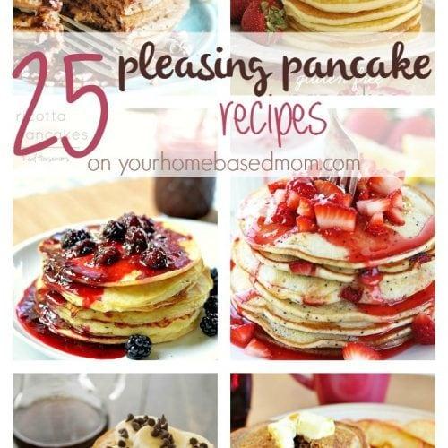 25 Pleasing Pancake Recipes