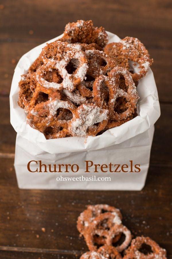 Churro Pretzels