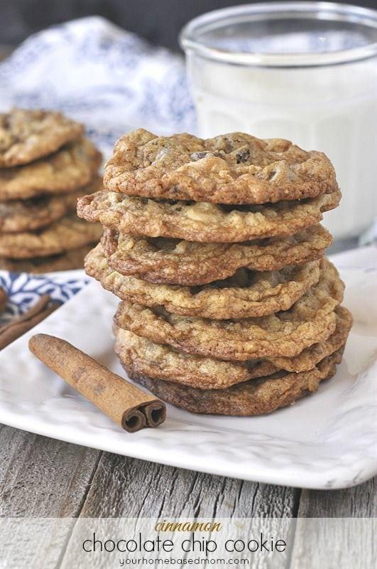 Chocolate Chip Cookies - Cinnamon Treats