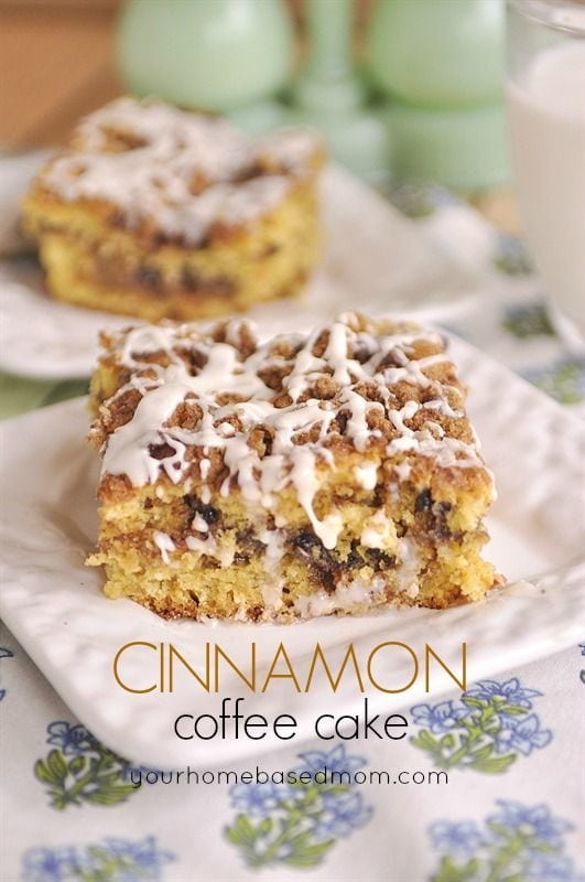 Cake Mix Coffee Cake - Cinnamon Treats