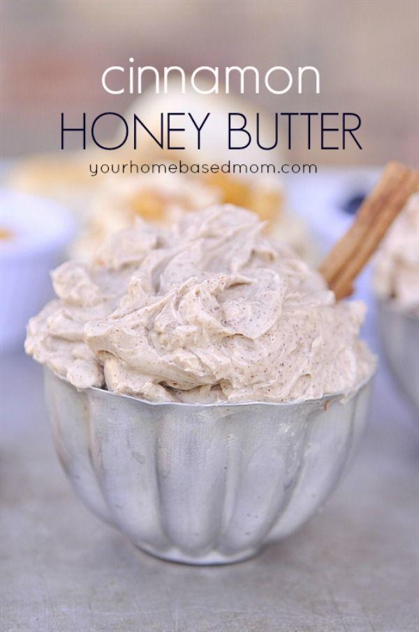 Flavored Honey Butters - Cinnamon Treats