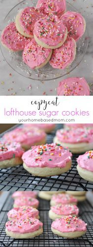 Copycat Lofthouse Sugar Cookies - better than the store bought version!