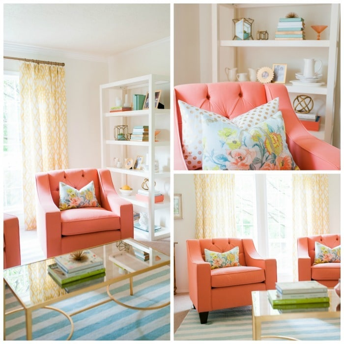 Coral Chairs