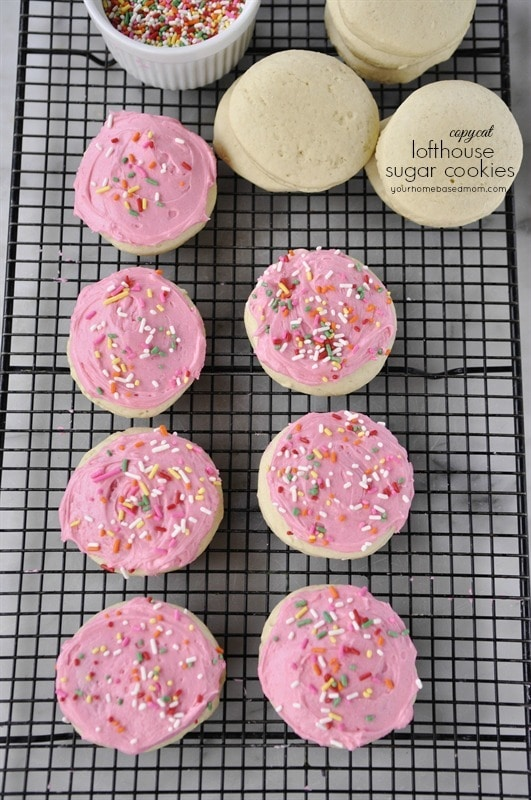 Lofthouse Copycat Sugar Cookies
