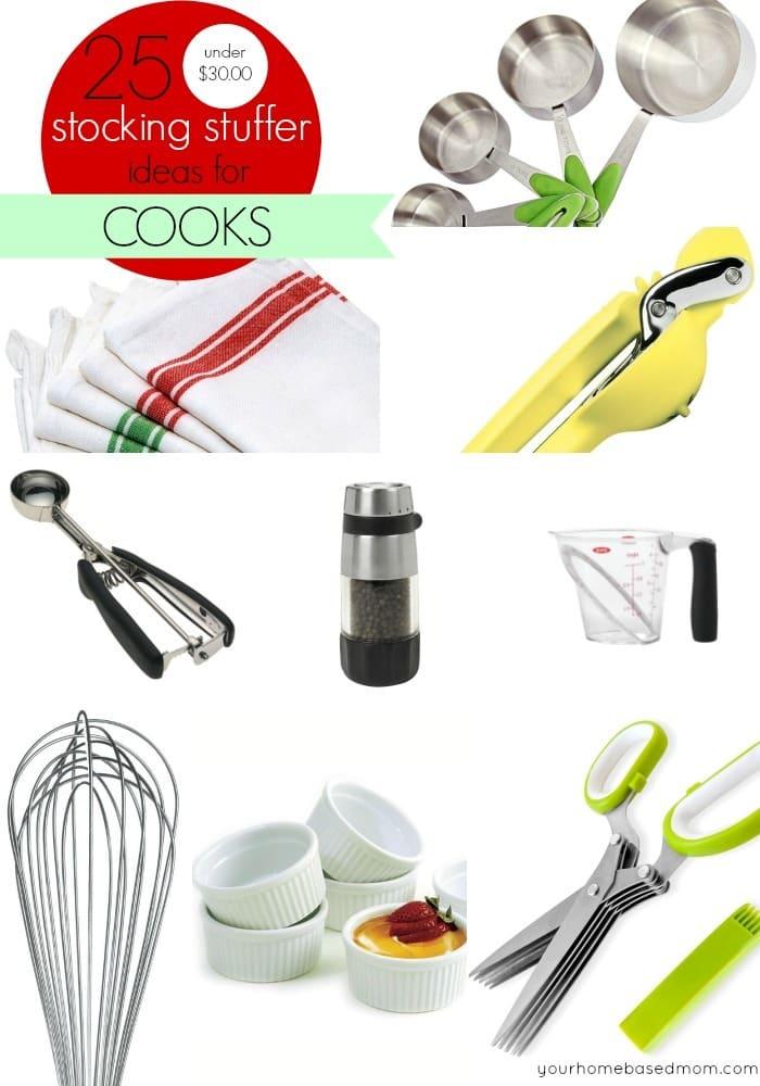 Stocking Stuffer Ideas for Cooks