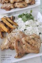 Sweet & Tangy Marinated Grilled Chicken