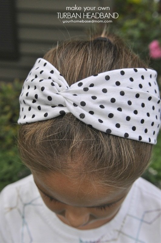 Make Turban Headband Turban Headbands