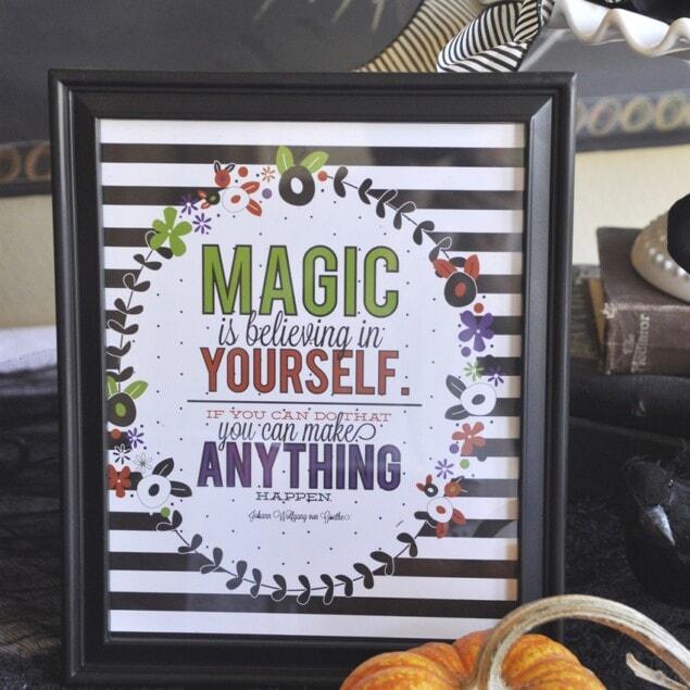 magic is believing printable