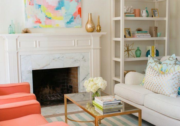 Living Room Redo Reveal