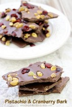 Pistachio & Cranberry Bark