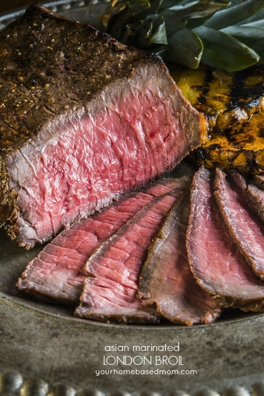 Asian Marinaded London Broil