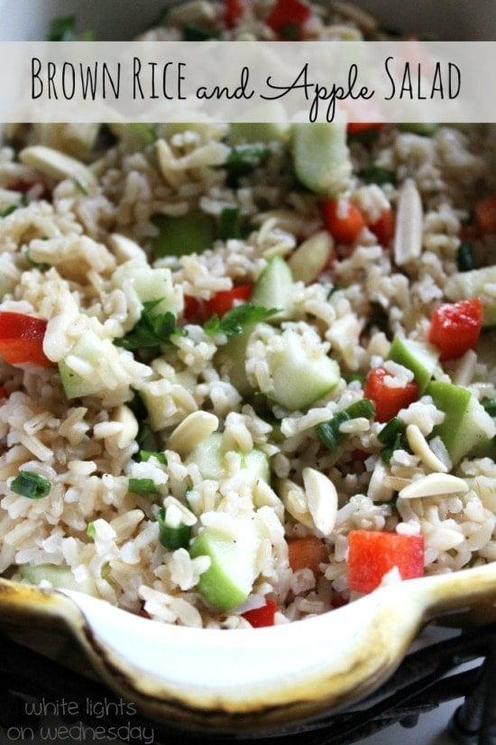Brown Rice and Apple Salad 2