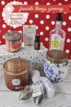 A Few of My Favorite Scents }Favorite Things Giveaway