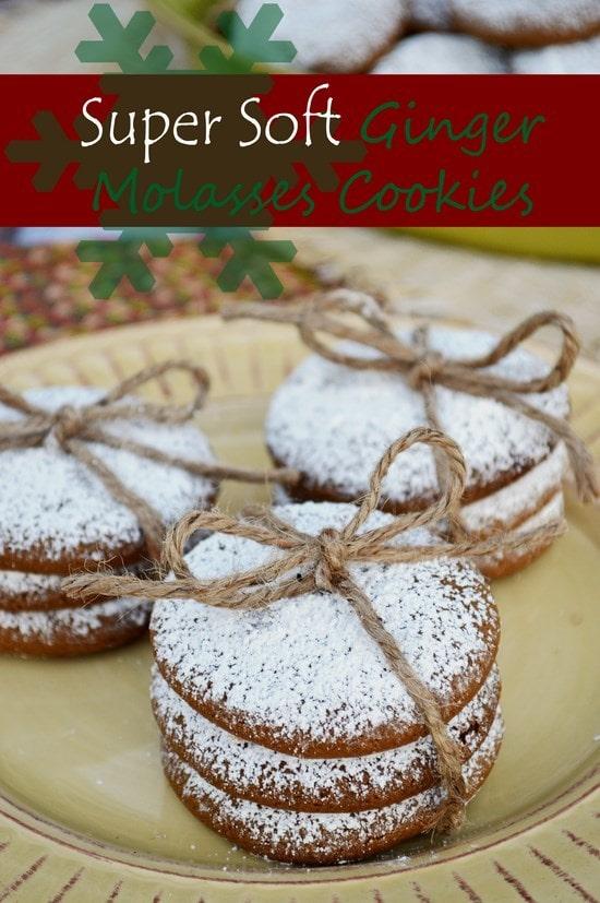 Ginger-Molasses-Cookies