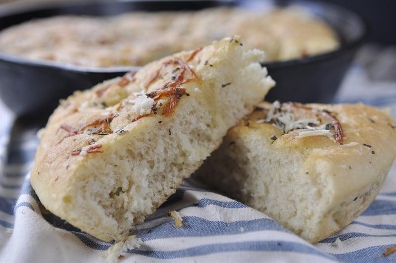 Skillet Foccacia Bread