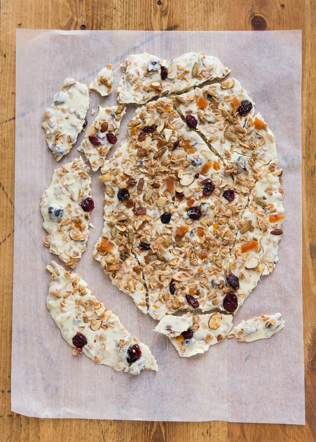 White Chocolate Granola Bark-2