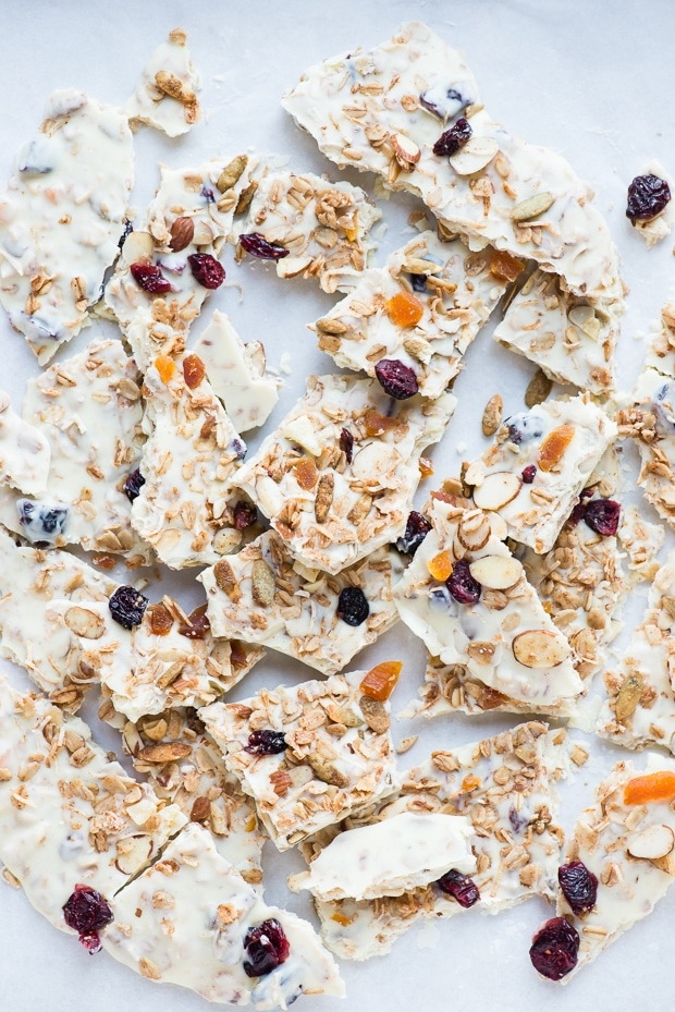 White Chocolate Granola Bark-6