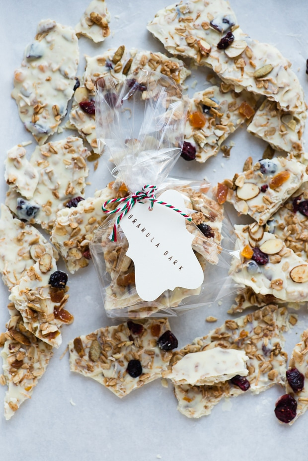 White Chocolate Granola Bark-7