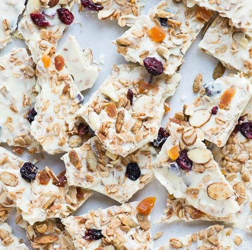 White Chocolate Granola Bark