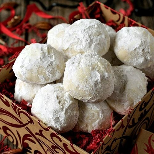 Coconut Snowball Cookies