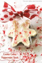 Cookie Cutter Peppermint Bark