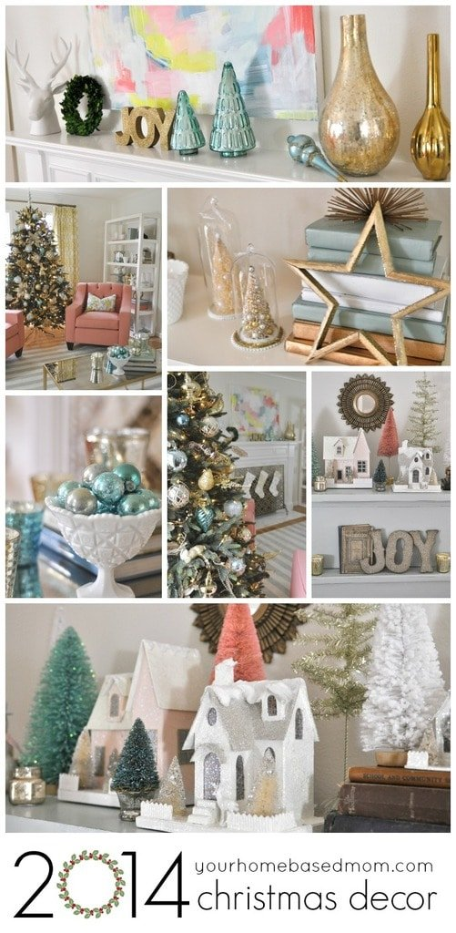 2014 christmas decor collage