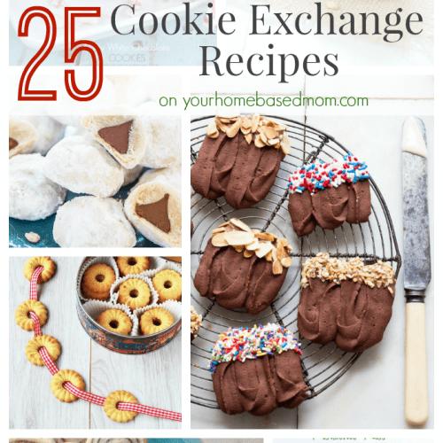 25 Cookie Exchange Recipes