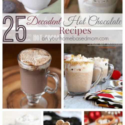 25 Decadent Hot Chocolate Recipes