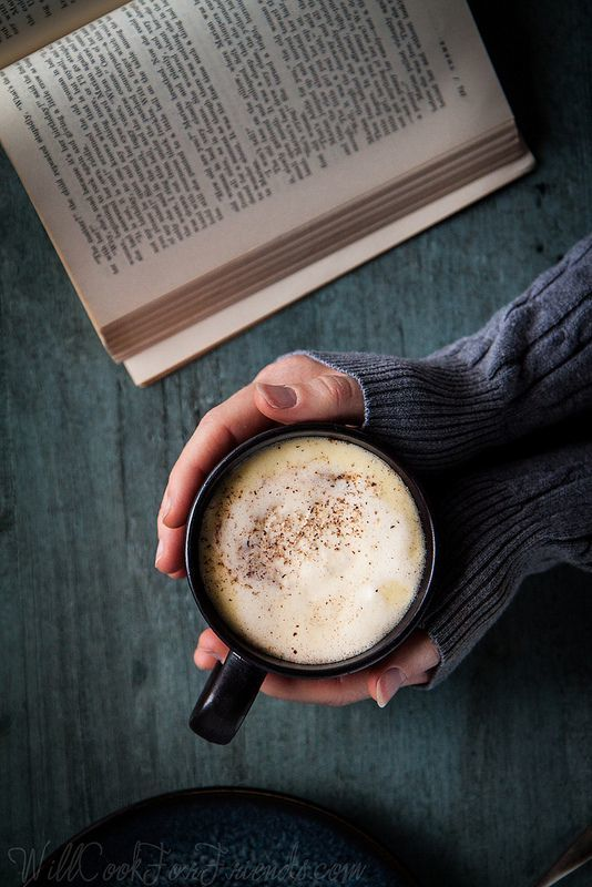 Cardamom & Orange Spiced White Hot Chocolate