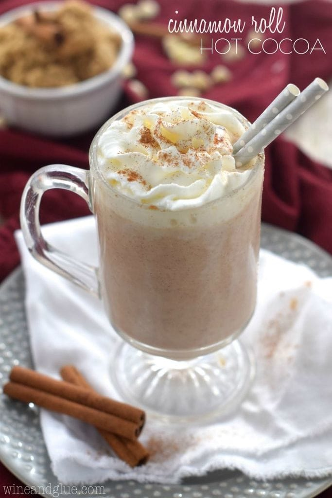 Cinnamon Roll Hot Cocoa