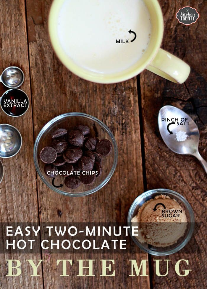 Easy Two-Minute Hot Chocolate By the Mug