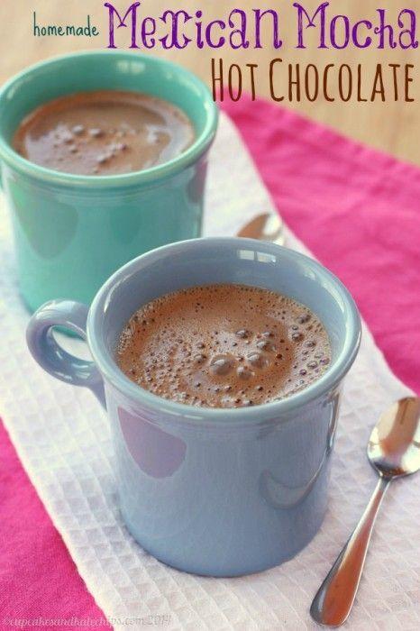 Homemade Mexican Mocha Hot Chocolate