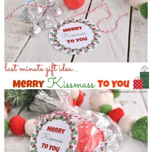 Merry Kissmass to You} Last Minute Christmas Gift Idea