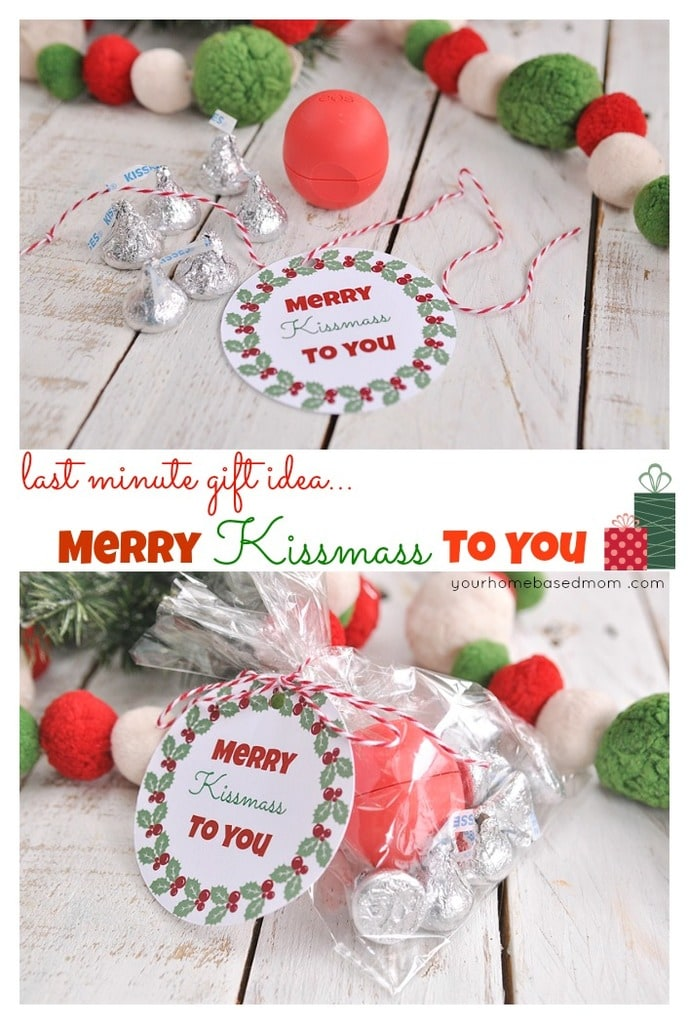 Merry Kissmass to You Last Minute Gift Idea