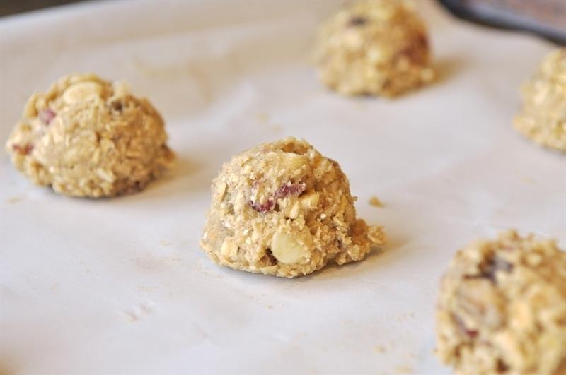 Pistachio & Cranberry Oatmeal Cookies