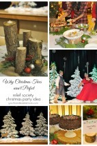 Relief Society Christmas Party Idea}Why Christmas Trees Aren't Perfect