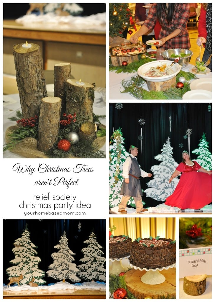 relief society christmas party ideas
