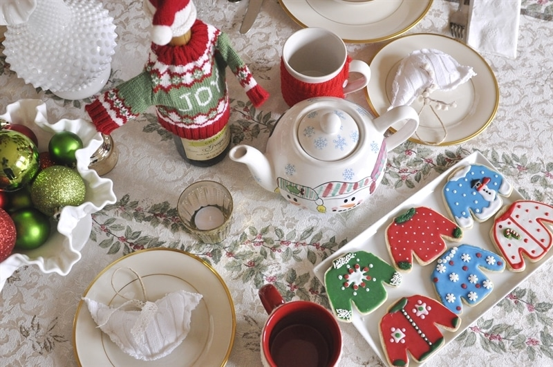 Ugly Sweater Tea Party