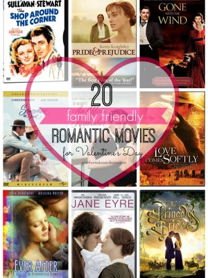 20 family friendly romantic movies for Valentine's Day