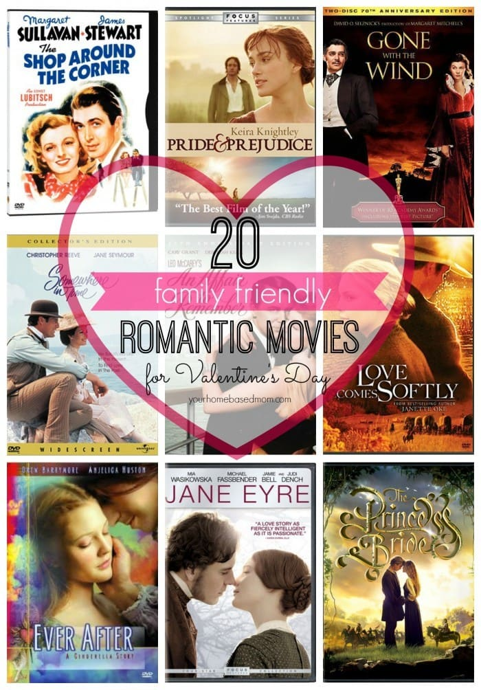 20 Family Friendly Romantic Movies For Valentine S Day Your