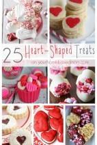 25 Heart-Shaped Treats on yourhomebasedmom.com