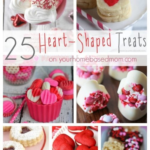25 Heart-Shaped Treats