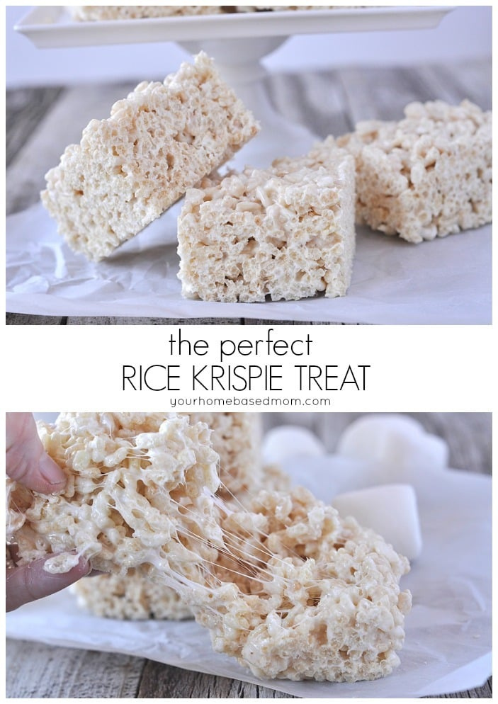 Rice Krispie Treats - How to make the best Rice Krispie Treats