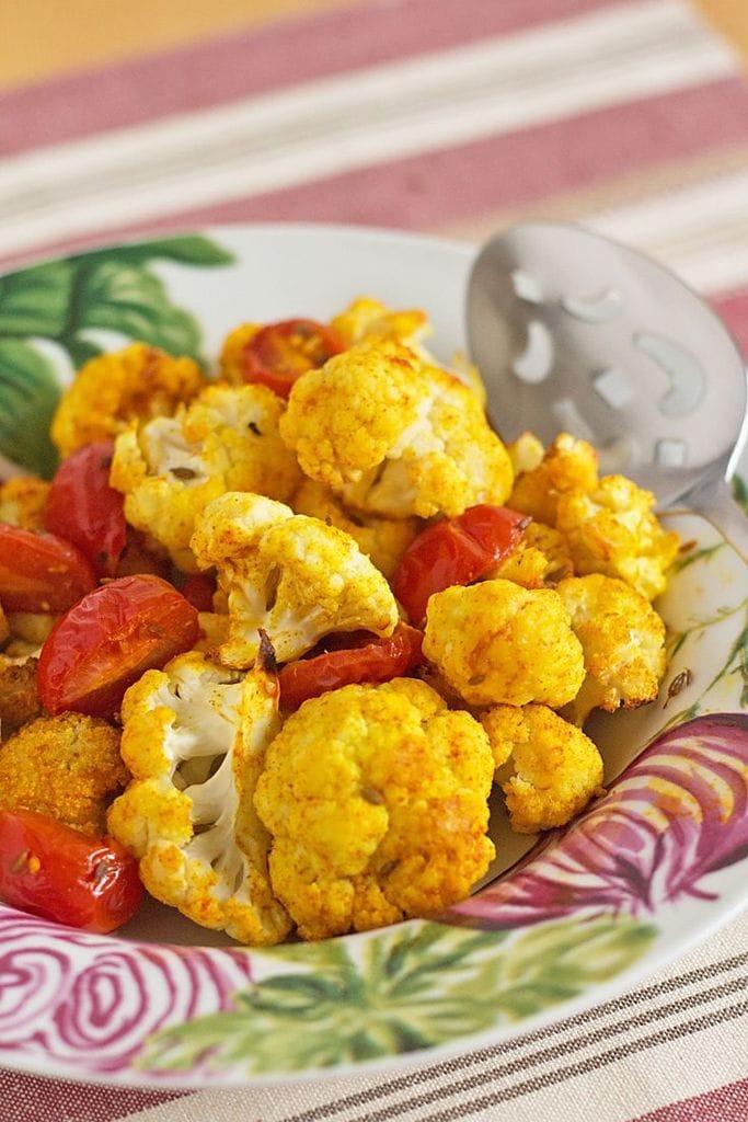 Indian Spiced Cauliflower