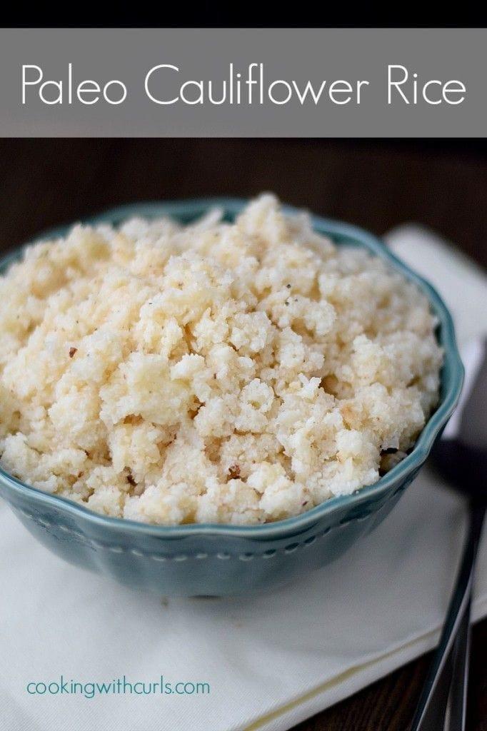 Paleo Cauliflower Rice