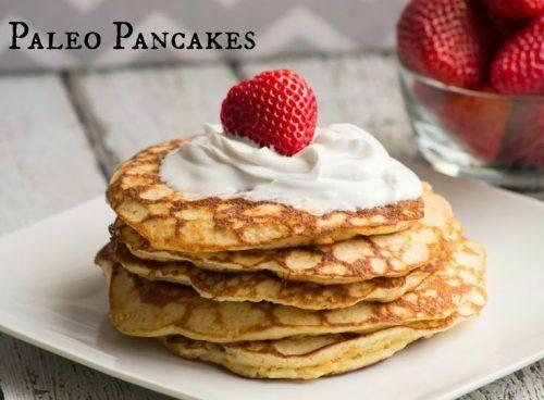 Paleo & Gluten Free Pancakes