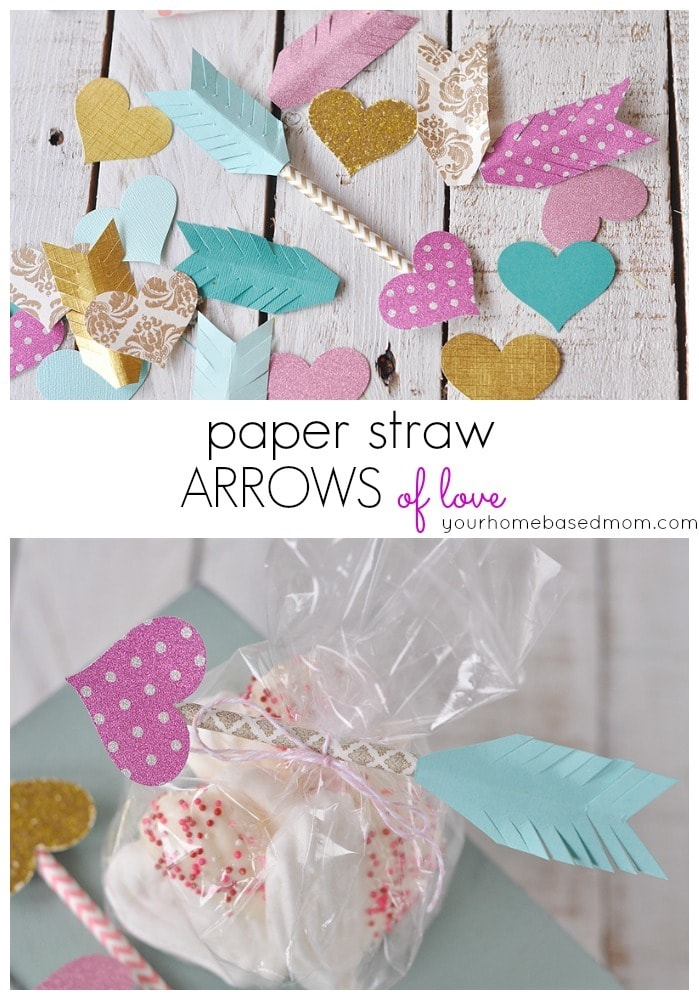 Paper Straw Arrows of Love...