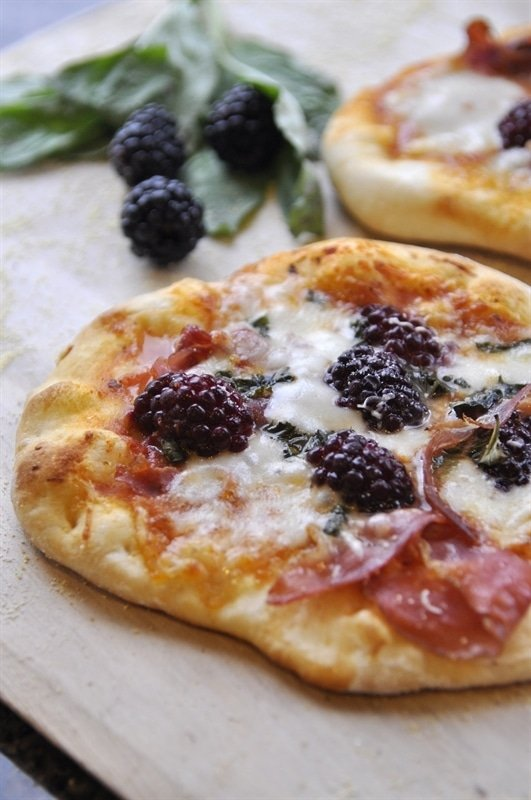 Blackberry Pizza