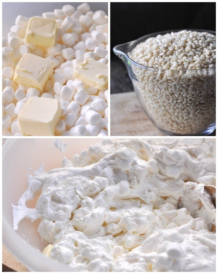 How to Make Rice Krispie treats step by step instructions